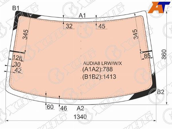 Стекло заднее AUDI A8, AUDI A8 94-02