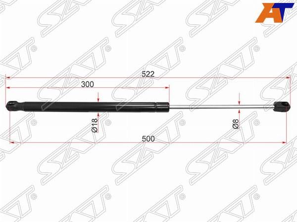 Амортизатор крышки багажника AUDI A4/S4 07-14